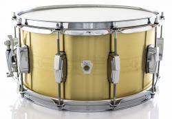 "Caixa Ludwig Heirloom LBR0714 Brass Shell 14x7"" Edição Limitada Made in USA"