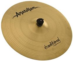 "Crash Anatolian Traditional Thin 17"" Handmade Turkish"
