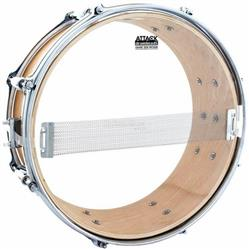"Pele Attack Drumheads Snare Side Hazy Medium 12"" SS12M Resposta de Caixa"
