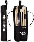 Bag de Baquetas Vic Firth Essential Stick Bag ESB com Diversas Divisórias (10273)