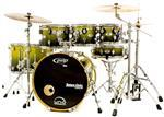 "Bateria PDP by DW X7 Maple Silver to Black Sparkle Fade 20"",8"",10"",12"",14"",16"" e Caixa (Shell Pack)"