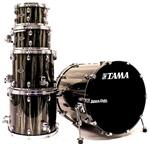 "Bateria Tama Starclassic Performer Bubinga Black Clouds Silver 22"",10"",12"",14"",16"" (Shell Pack)"