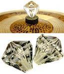 Borboleta Tribal Percussion Diamante para Estantes de Prato 8mm Kit com 2 Unidades