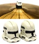 Borboleta Tribal Percussion Stormtrooper Star Wars para Estantes de Prato 8mm Kit com 2 Unidades