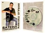 DVD Bráulio Mayrink Bateria Complementar - Rock, Salsa, Funk, Afro, Jazz, Pedal Duplo, Ostinato