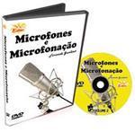 DVD Curso de Microfones e Microfonação para Bateria Volume 2 Afinação, Ambiência, Captação, Estúdios