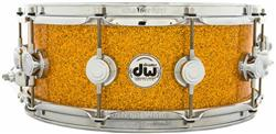 "Caixa DW Collectors Hybrid Maple Mahogany Tangerine Glass 14x5,5"" Aros True Hoop"