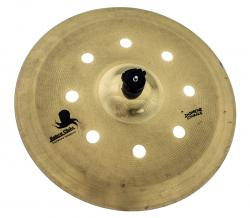 "Crash Batera Clube Signature Solutions Cut Air Brass 18"" tipo O-Zone e EFX (Saldão)"