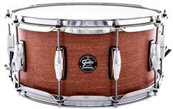 "Caixa Gretsch Marquee Maple Series Satin Walnut 14x6,5"" Casco Top e Aros PowerHoop 2.3mm"