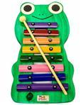 Metalofone JOG Vibratom Sapo P2235 com 8 Teclas Coloridas e Baqueta (Musicalização Infantil) 16422