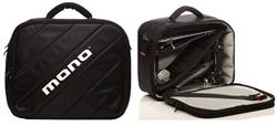 Semi Case de Pedal Duplo e Single Mono M80 com Mini Bag Extra Interna Modelo Mais Top do Mundo