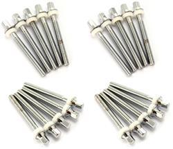Parafuso Odery EYE-TTR Kit c/ 20 Un. p/ Tons, Surdo ou Caixa 50mm Comprimento Similar Pearl T-061L/6