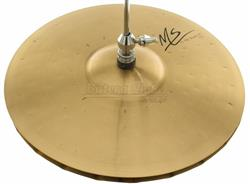 "Chimbal Orion MS Hi-Hat Studio 13"" MS13HH em Bronze B10 Handmade com Bordas Mastersound"