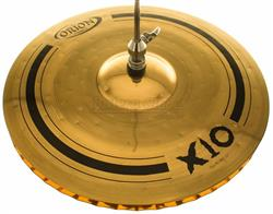 "Chimbal Orion X10 Hi-Hat 14"" SPX14HH Mastersound em Bronze B10"