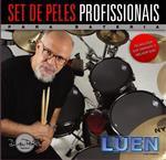 """Kit de Peles Luen Dudu Portes Double Clear Rock 12"""", 13"""", 16"""" e 14"""" Cx (11165)"""