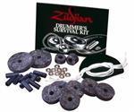 Kit SOS Zildjian Survival Kit P0800 Peças de Reparo com Feltros, Pad Kick, Cordinhas, Arruelas