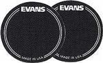Pad de Bumbo Evans EQPB1 Patch com 2 Unidades (Proteção Aveludada) Pad Kick (014108)