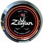 "Relógio de Parede Zildjian Neon 17"" ZNC17A Energia 110V"
