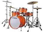 "Bateria Yamaha Club Custom Kapur Shell Orange Swirl com Bumbo 20"" (Made Japan)"