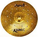 """Crash Krest Aged Brass Gap 18"""" estilo Sabian O-Zone e Zildjian EFX"""