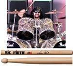 "Baqueta Vic Firth Signature Vinnie Paul ""Padrão 2B"" Mais Comprida (8974)"