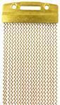 """Esteira de Caixa Nagano EST-0003 para Caixas de 14"""" com 20 Fios em Brass + Articulação e + Volume"""