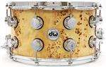 "Caixa DW Collectors Exotic Series Mappa Burl Lacquer 14x8"" Assinada por John Good"