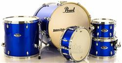 "Bateria Pearl Export EXX Series Mahogany High Voltage Blue 22"",10"",12"",16"" (Shell Pack)"