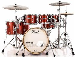 "Bateria Pearl Masters MCT Maple Complete Vermillion Sparkle 20"",8"",10"",12"",14"",16"" Thin Shells"