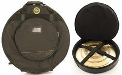 "Bag de Pratos Rockbag Plus Deluxe RB 22640B até 22"" Semi Case + Rígido e Robusto"