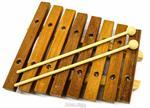 Xilofone JOG Vibratom P2113 8 Teclas Diatonico C6 a C7 (Musicalização Infantil) 15140