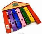 Xilofone JOG Vibratom P2114 Casa 5 Teclas Diatonico (Musicalização Infantil) 16509