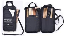 Bag de Baquetas IBox BQ300 Extra Grande com Diversos Bolsos e Tiras para Fixar no Surdo