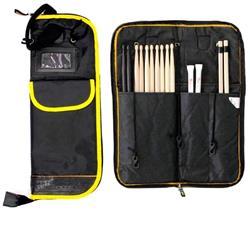 Bag de Baquetas Rockbag RB 22595B com 2 Bolsos Externos com Fixador para Surdo
