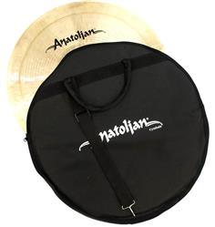 """Bag de Pratos Anatolian Cymbals Standard Cymbal Bag com Alça de Ombro e Pratos até 22"""""""