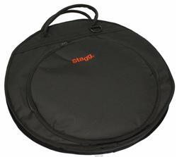 "Bag de Pratos Stagg Standard Cymbal Bag para Pratos até 20"""