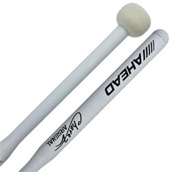 Baqueta Ahead Drumsticks ABM1 Chavez Arsenal Marching Band Mallets de Bumbo Marching e Sinfônico