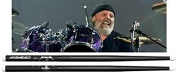 "Baqueta Ahead Drumsticks Signature Lars Ulrich ""Scary Guy"" LU-SG (Padrão 5B) Poliuretano"