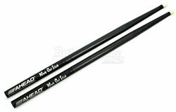 Baqueta Ahead Drumsticks Work Out Stick WOS para Estudo Mais Pesada que 2B e Base de Alumínio