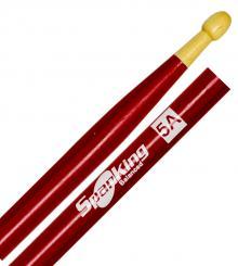 Baqueta Spanking Linha Colorida 5A Clássica Vermelha (4052VM)