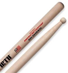 "Baqueta Vic Firth American Custom Maple SD1 General ""Padrão 2B"" (1148)"