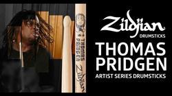 Baqueta Zildjian Signature Thomas Pridgen ASTP (Padrão 5B)