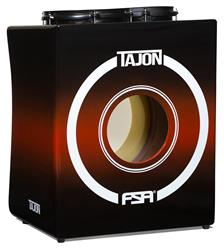 Bateria Cajón FSA Tajon Master TAJ20 Preto e Vermelho Mini Bateria Cajón Kit Compacto