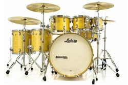 "Bateria Ludwig Classic Maple Natural Lacquer 22"",8"",10"",12"",14"",16"" (Shell Pack)"