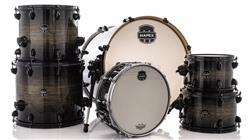 "Bateria Mapex Armory Studioease Maple Birch AR628SFU Black Dawn 22"",10"",12"",14"",16"" (Shell Pack)"