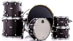 "Bateria Mapex Mars Crossover Plus MA528SF Smokewood 22"",10"",12"",14"",16"" Caixa 14x6,5"" (Shell Pack)"
