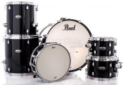 "Bateria Pearl Decade Maple Black Ice Lacquer 22"",10"",12"",14"",16"" (Shell Pack)"