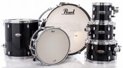 "Bateria Pearl Decade Maple Black Ice Lacquer 22"",8"",10"",12"",16"" (Shell Pack)"