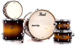 "Bateria Pearl Decade Maple Classic Satin Amburst 20"",10"",12"",14"" com Caixa (Shell Pack)"