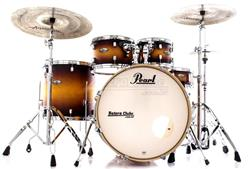"Bateria Pearl Decade Maple Classic Satin Amburst 22"",10"",12"",16"" com Kit de Ferragens 830"